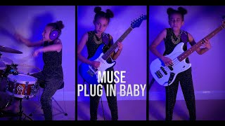 Plug In Baby by Muse - Cover - Nandi Bushell 10 Years Old