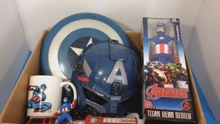 Box of Toys 💥 Box Full of Toys 🇺🇸 Captain America 🇺🇸 Kids Toys 🐠 Kids Fun