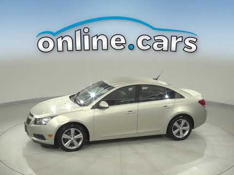 C12820RO Used 2013 Chevrolet Cruze 2LT FWD 4D Sedan Gold Test Drive, Review, For Sale