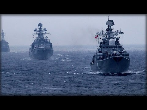 RUSSIA & CHINA CONDUCT JOINT ANTI-SUBMARINE,AIR DEFENSE DRILLS IN S.CHINA SEA