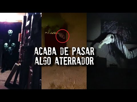 Acaba de pasar algo aterrador | Videos de Fantasmas Reales