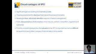 Initial Public Offering (IPO) process explained