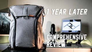 comprehensive Look at Peak Design Everyday Backpack 20L - 1 YEAR REVIEW