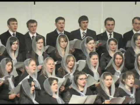 "Молодёжный хор - ""Он Иегова""; Ukrainian Christian Song - ""He is Jehovah"""