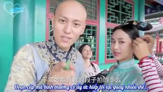 [ Vietsub Hậu trường Long Châu Truyền Kỳ ] - Tấn Tuấn Kiệt & Dương Tử