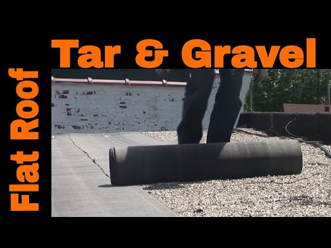 Flat Roof Installation Over Tar and Gravel - most effective recover roofing system