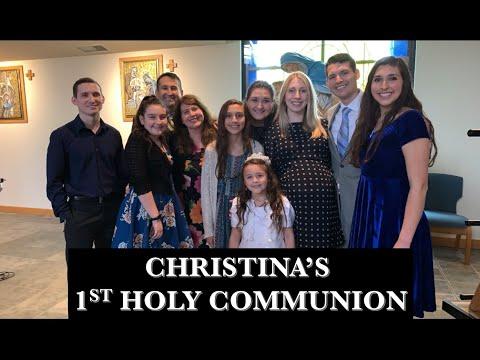 Christina's 1st Holy Communion