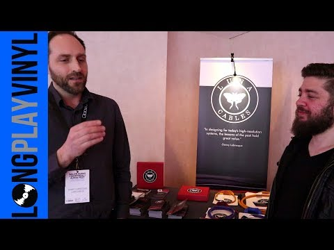 Interview with Danny Labrecque of Luna Cables at Montreal Audio Fest 2018