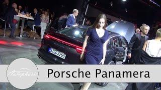 Weltpremiere Porsche Panamera (2. Generation) Design, Technik, Infotainment, Motoren - Aut ...