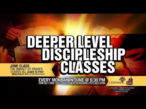 Deeper Level: Prayer (Week 2)