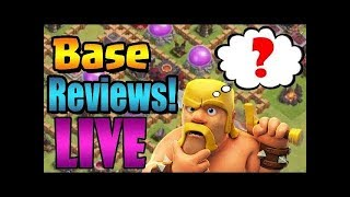 CLASH OF CLANS LIVE STREAM//CLAN GAMES//BASE REVIEW AND MUCH MORE