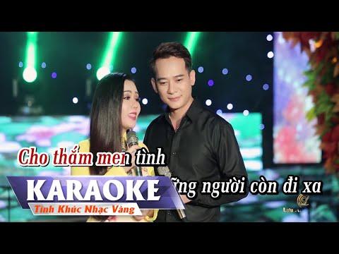 KARAOKE - Hái Hoa Rừng Cho Em | Song Ca | Đoàn Minh & Lưu Ánh Loan