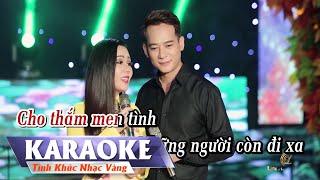 KARAOKE - Hái Hoa Rừng Cho Em   Song Ca   Đoàn Minh & Lưu Ánh Loan