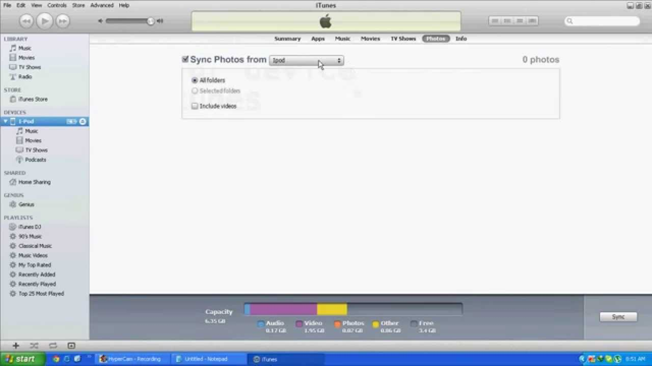 how to delete photo library from iphone how to remove synced photos photo library from ipod 4612