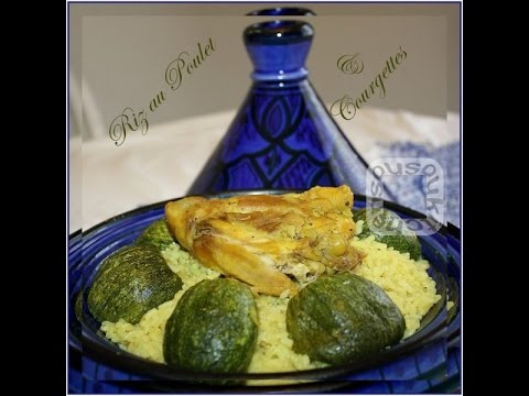 riz-au-poulet-et-courgettes-rondes-/-rice-with-chicken-and-zucchinis
