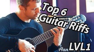 Mairis Briedis - Top 6 Guitar Riffs