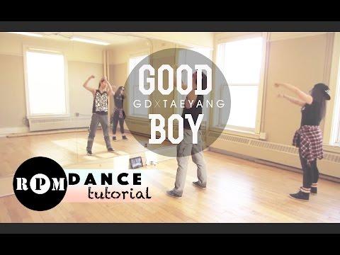 GD X TAEYANG Good Boy Dance Tutorial (Intro & First Chorus)