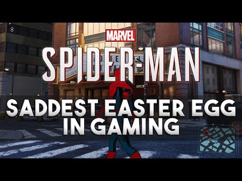 Saddest Easter Egg in Gaming - Marvel's Spider-Man - YouTube