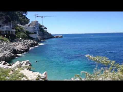 "Hike around ""le cap de Nice"" ღ hidden gem of Nice"