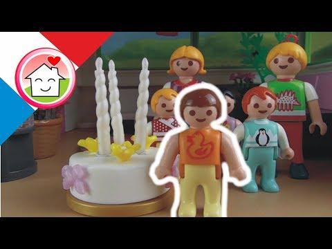 Playmobil en français L´anniversaire d´Anna  La famille Hauser / film pour enfants
