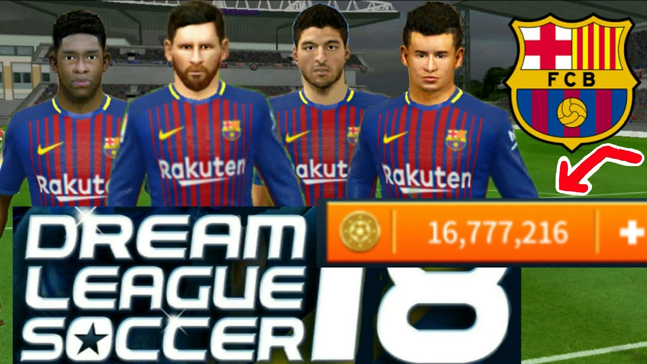 how to hack fc barcelona team 2018 all players 100 kits logo