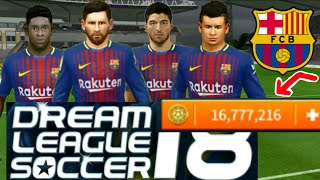 How to hack barcelona team ★ all players 100 dream league soccer 2018 zarchiver https://play.google.com/store/apps/details?id=ru.zdevs.zarchiver download b...