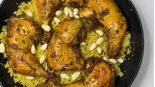 Chicken Mandi Recipe  Eid Special Recipe - How To Cook Arabic Mandi Rice - Homemade Chicken Mandi