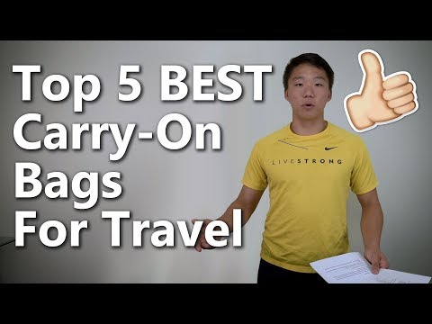 Review The 5 Best Carry On Luggage Bags For Traveling