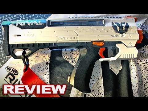 [REVIEW] Nerf Rival Helios Review! (Latest Nerf Rival Phantom Corps Blaster - New Nerf 2017)