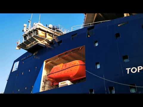 Topaz Tiamat- Offshore Support Vessel - na Bałtyku