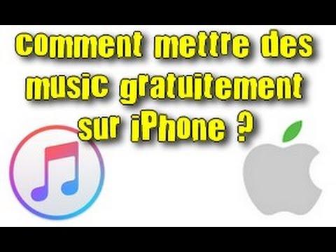 TUTOComment mettre des music sur iPhone