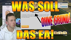 ANSAGE AN EA!😡 EA SPERRT OHNE GRUND MEIN FIFA 17 ACCOUNT!😭❌ FIFA 17 ULTIMATE TEAM (DEUTSCH)