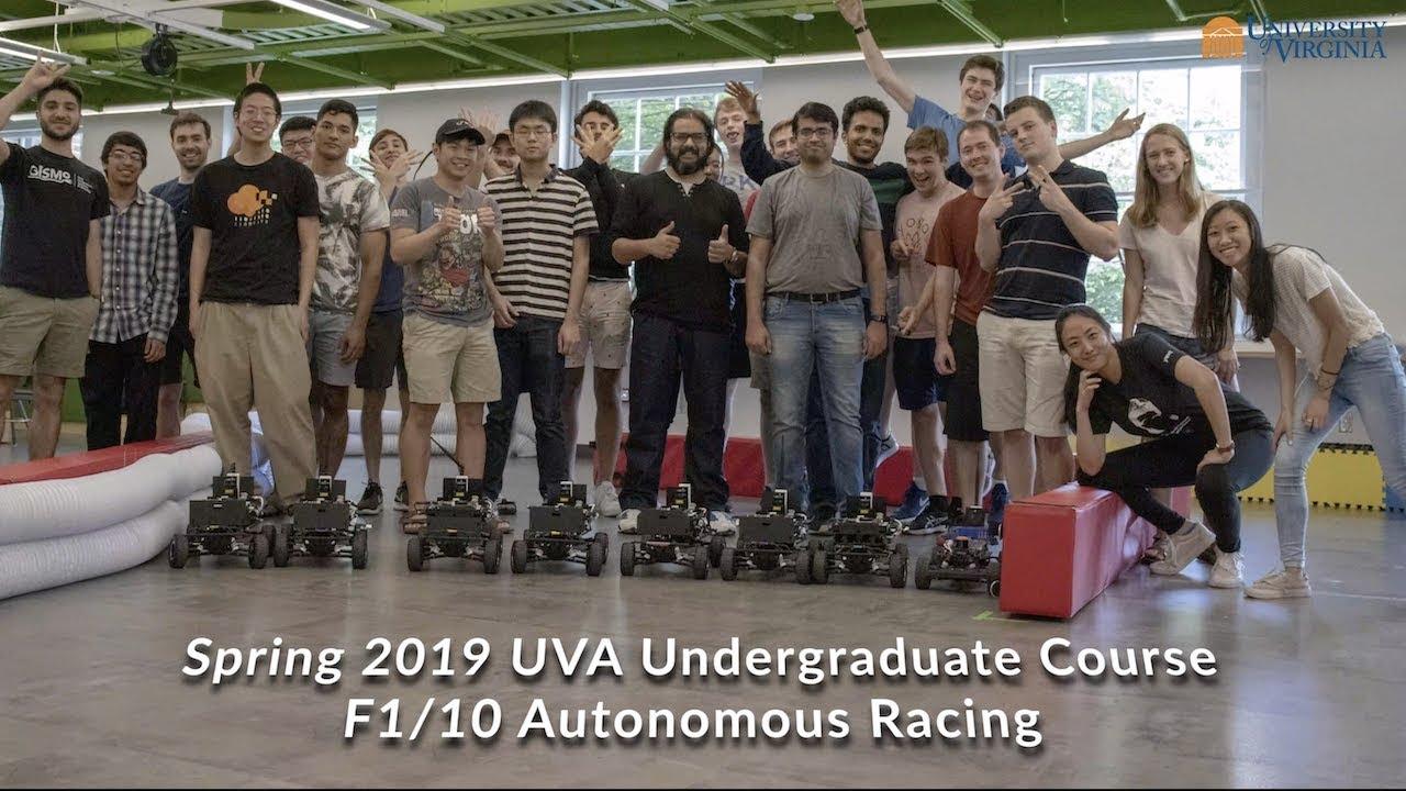 Autonomous Vehicles Robotics University Of Virginia School Of Engineering And Applied Science