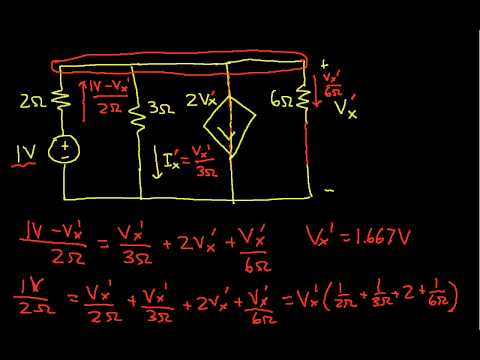 Superposition Example-Dependent Source