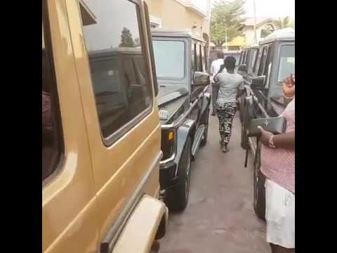 Mercedes G Class Crazy. Civil servants stealing public funds.