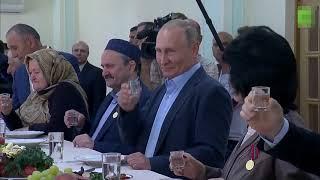 Путин, водка и чудеса оптики