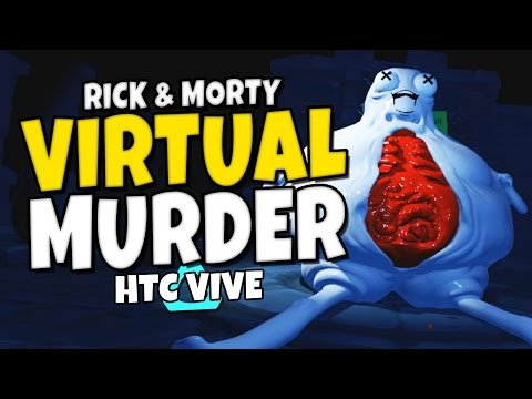 """Accounting VR Gameplay - """"Rick & Morty VR"""""""