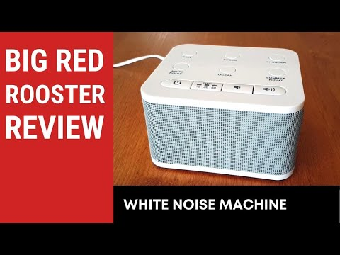 Big Red Rooster White Noise Sound Machine Review
