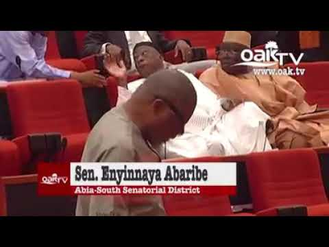 "Watch The Moment Senator Abaribe Called President Buhari ""Incompetent"" (Video)"