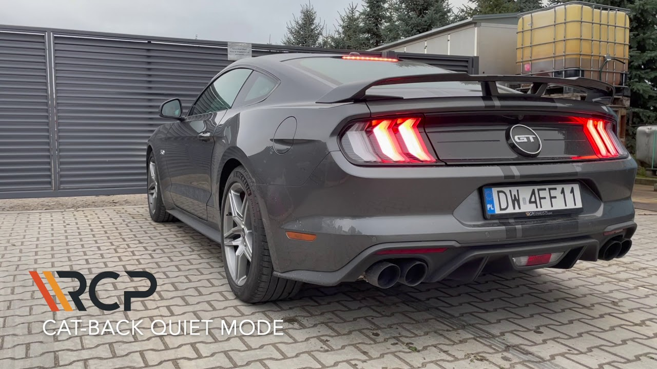 Ford Mustang GT V8 FL | RCP Exhausts | Cat-Back Exhaust