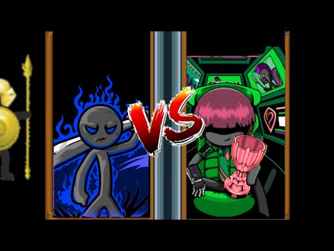 Speartons//Swordwrath Avatar VS First INSANE Mode Tournament // Stick War Legacy