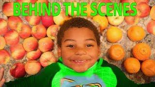 GOO GOO GAGA YES MAMA! Learn to eat Healthy with Nursery Rhyme Skit! Behind Scene