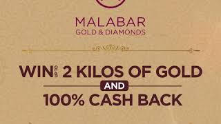 Win up to 2 Kilos of Gold & 100% cash back at Malabar Gold & Diamonds - Qatar