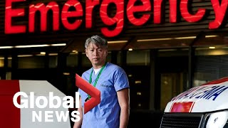Coronavirus outbreak: Photographer pays tribute to healthcare workers