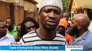 Taata w'omuyimbi Bobi Wine afudde