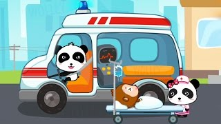Kids Learn The Common Transport Vehicles 🚑 Baby Panda Transportation by BabyBus Educational Games