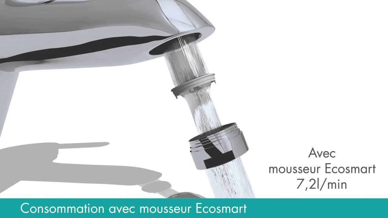 2015 les briconautes hansgrohe mousseur eco smart for Ads briconautes