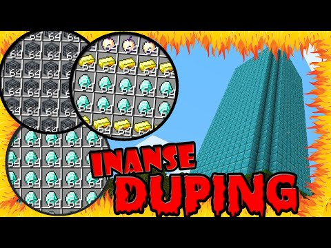 ULTIMATE MINECRAFT DUPING | DUPLICATING INFINITE ITEMS IN MC