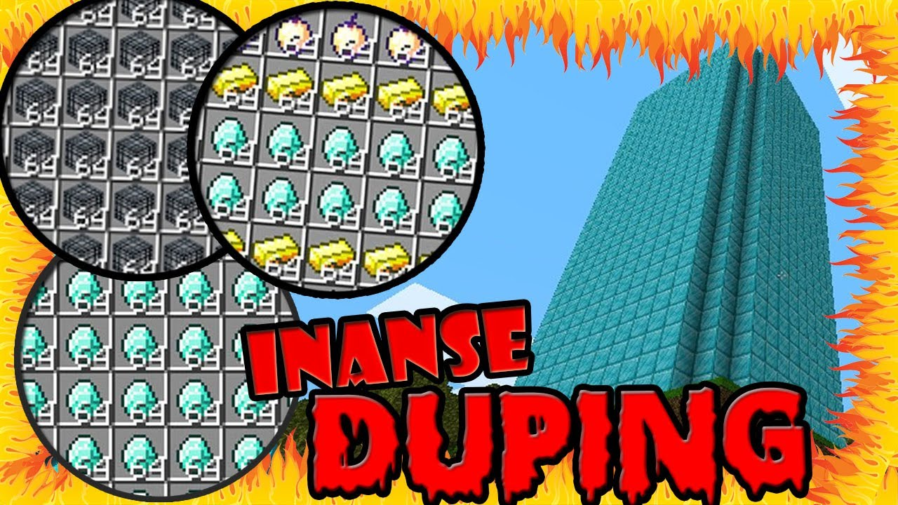 ULTIMATE MINECRAFT DUPING | DUPLICATING INFINITE ITEMS IN MC STILL WORKING  2018 2019 INSANE OP GLICH by The Real OG