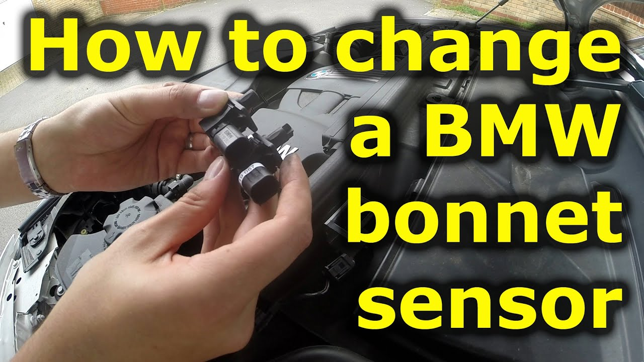 How to change a BMW bonnet alarm sensor - YouTube